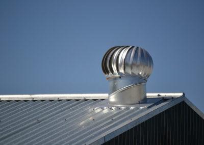 Pose de ventilation de toiture à Laval - Toitures et Construction SR Inc à Ste-Anne-des-Plaines